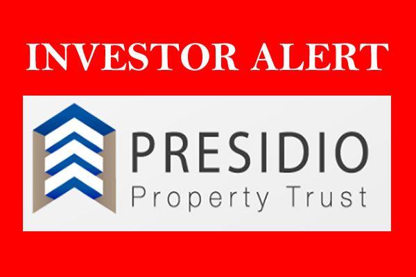 Presidio Property Trust NetREIT