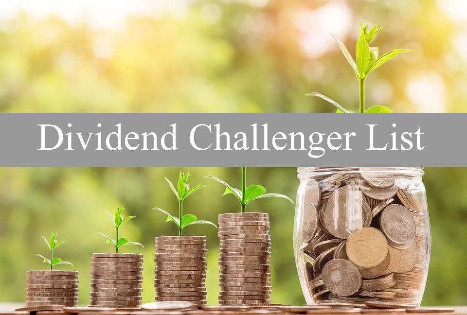Dividend Challenger List